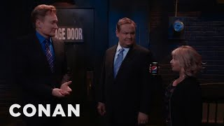 Conan & Andy Zero In On Their Problem: They're Thirsty