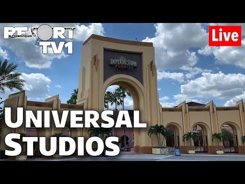 🔴Live: Universal Studios - Wednesday Morning Fun In 1080p - Universal Orlando Resort
