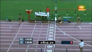 800 m Final Masculino - Campeonato de España Absoluto 2011