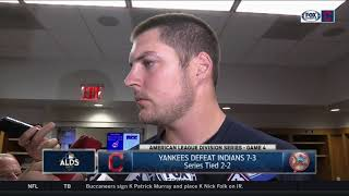 Trevor Bauer: Stuff was better in Game 4, 'little things' hurt chances | Indians vs. Yankees ALDS