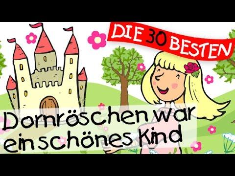 Dornröschen war ein schönes Kind - Märchenlieder zum Mitsingen || Kinderlieder