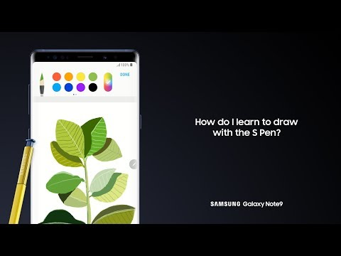 Galaxy Note9: How to Draw with the S Pen