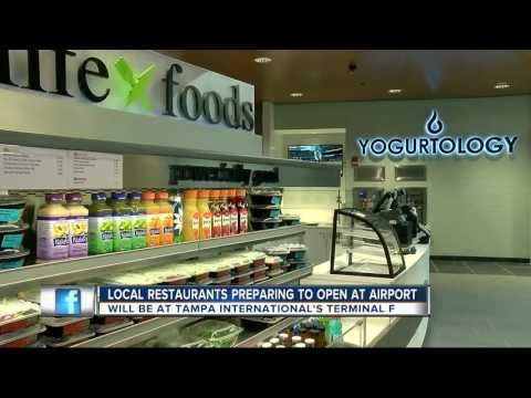 Local restaurants set to open at Tampa International Airport