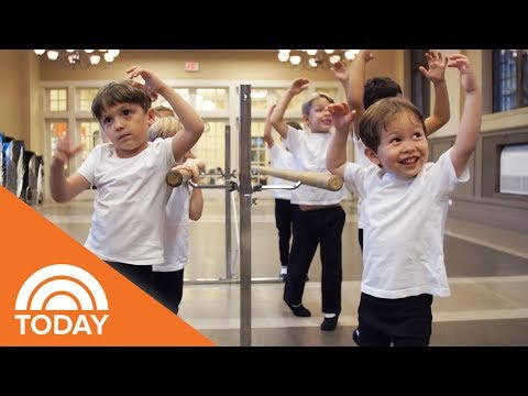 All-Boys Ballet Is The Class For Little Dancing Dudes | TODAY