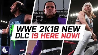 WWE 2K18 Hardy Boyz Pack Signature & Finishers! (Enduring Icons DLC)