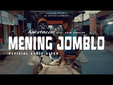 Asep Balon - Mening Jomblo (Feat. Agan Paralon) [Prod By. Aoi] (Official Lyric Video)