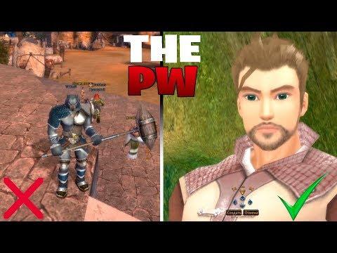 Начал заново качать Воина в Perfect World на ThePW (Выпуск 85)
