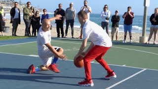 Professor 1v1 vs Cocky Hooper... Breaks Defender's Knee [Batmobile] Video