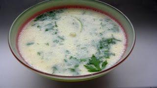 Греческий Суп Авголемоно.Вкусно и Просто!!!