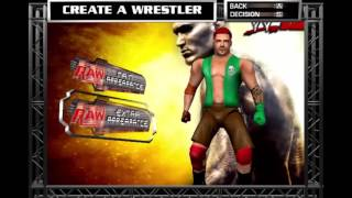 How to Create A Superstar in WWE RAW 2!!!