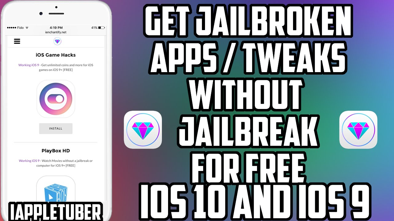 New install paid apps & games free ios 12 / 11 / 10 no jailbreak.