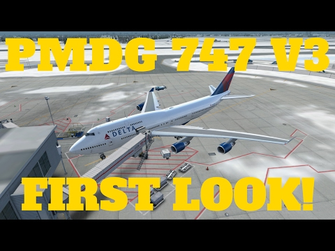 PMDG 747 V3 RELEASED! | FIRST LOOK & SOME NEAT FEATURES