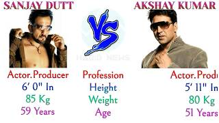 Sanjay Dutt vs Akshay Kumar Comparison 2018, #SanjayDutt Lifestyle #AkshayKumar Net Worth