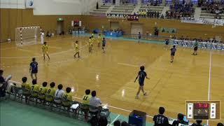 2019年IH ハンドボール 女子 2回戦 富岡(群馬)VS 那覇西(沖縄)