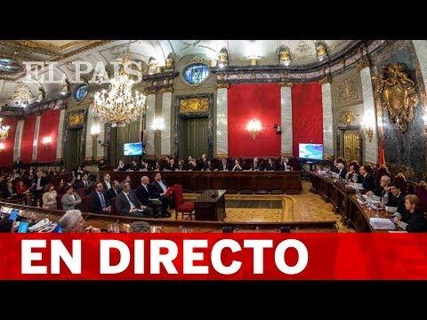 DIRECTO | JUICIO al 'PROCÉS', sesión de la tarde