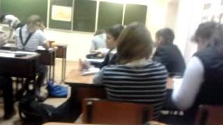 Наш класс на ИЗО