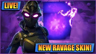 NEW RAVAGE SKIN // FORTNITE LIVE // PLAYING WITH SUBS LIVE XBOX [STREAM]