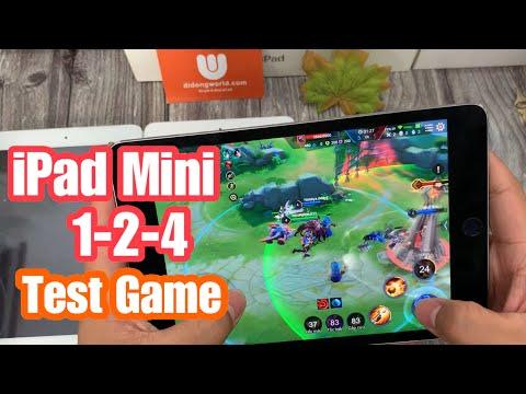 Test Game Và Hiệu Năng  So Sánh Các Dòng IPad Mini 1-2-4 Dưới 5 Triệu