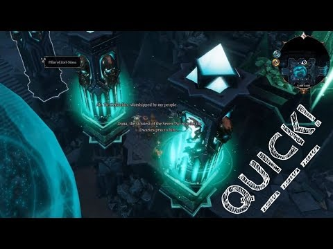 DIVINITY ORIGNAL SIN 2 | Ancient Temple Pillar Puzzle Blackpits Mines | The Midnight Oil