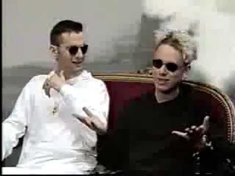 Interview with Martin Gore and Dave Gahan in 1990
