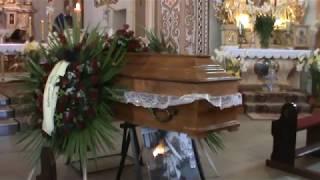 Pogrzeb Władka Pielgrzyma - Ewangelia i kazanie