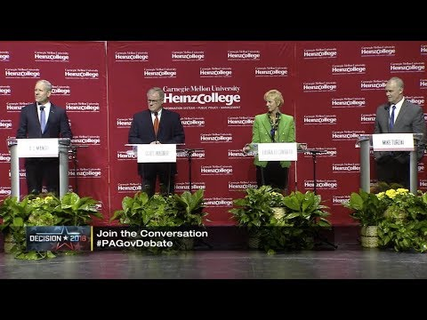 2018 Pennsylvania Republican Gubernatorial Debate