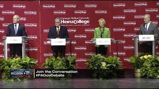 2018 Pennsylvania Republican Gubernatorial Debate