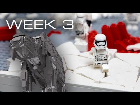 Building Crait in LEGO - Week 3: Scale