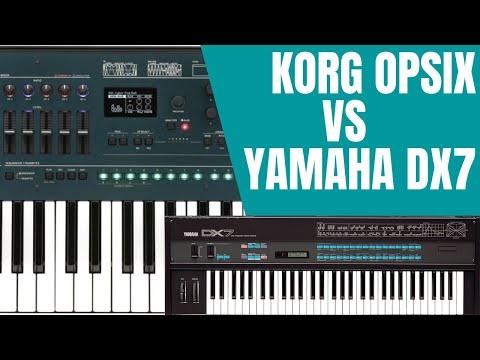 KORG OPSIX VS YAMAHA DX7 FM