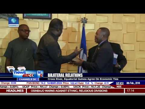 Cross River, Equatorial Guinea Agree On Economic Ties