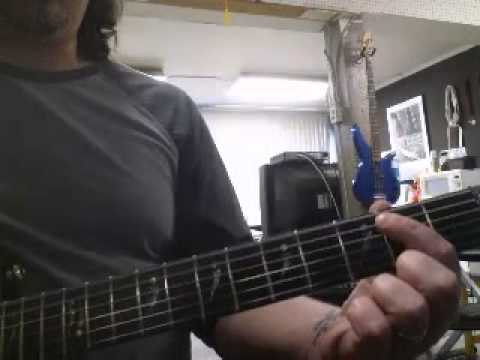 How to play Aw Naw by Chris Young on guitar.