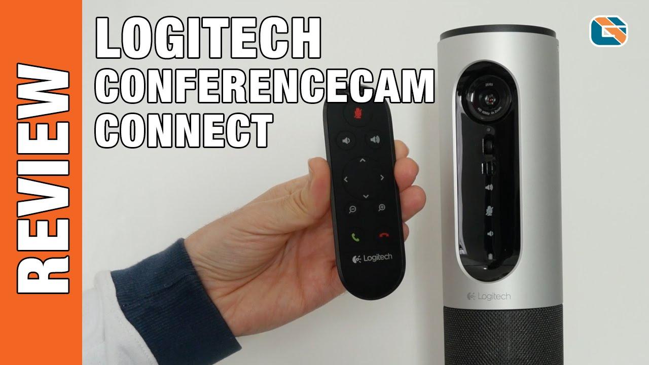 Best Webcam Review - Logitech ConferenceCam Connect