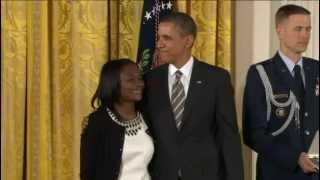 Patience Lehrman - Philly Woman from Cameroon Gets US 2nd Highest Civilian Honor