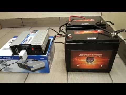 DIY Battery Powered Backup Electric Generator Stationary or Portable SEE DESCRIPTION