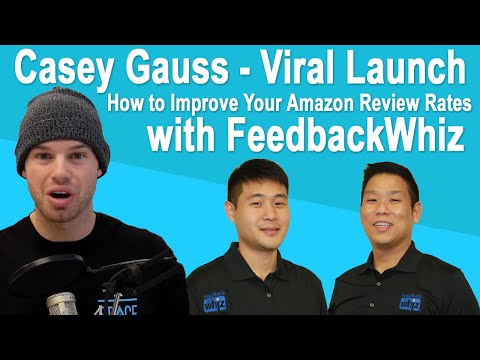 how-to-improve-your-amazon-review-rates-|-casey-gauss-|-viral-launch