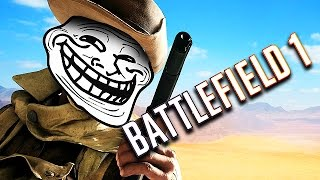 TROLLING SNIPERS ON BATTLEFIELD 1!! (Battlefield 1 Funny Moments)