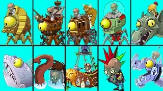 Plants Vs Zombies 2 Todas las Finales de Todos los Mundos Vs Plantas al Máximo Nivel thumbnail
