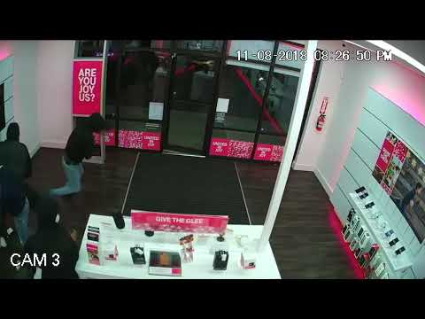 Cellphones Stolen From T-Mobile Store In St. John