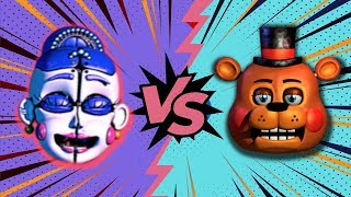 BALLORA VS TOY FREDDY ⭐️ La Liga de FNAF | FNAF ULTIMATE CUSTOM NIGHT - Cuartos de Final