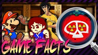 Bruce Lee und Jackie Chan treffen Mario & League of Atombomben | Random Game Facts #142