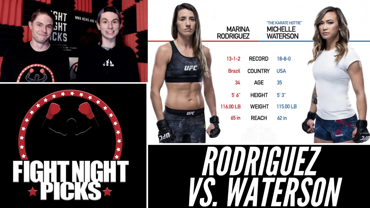 UFC Fight Night Main Event Odds, Pick & Prediction for Marina ...