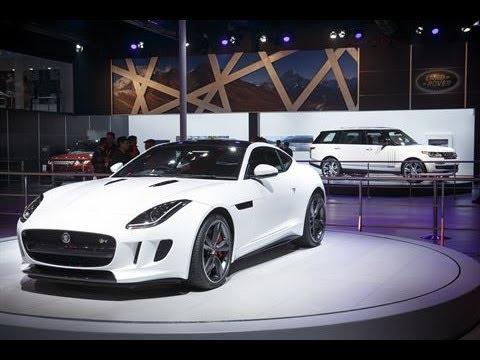 Jaguar F Type Coupe >> Presentation and Unveil of the Jaguar F-TYPE Coupé with José Mourinho | AutoMotoTV - YouTube