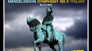 "Mendelssohn Symphony no. 4, op. 90 ""Italian"" Allegro vivace"