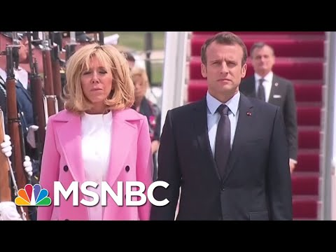 French President Emmanuel Macron Arrives To U.S. For State Visit | MSNBC
