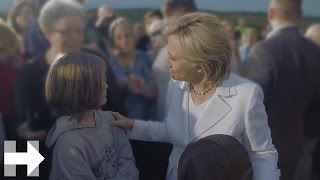 Young Future Iowa Voter Asks Hillary a Question | Hillary Clinton