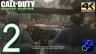 CALL OF DUTY 4 Modern Warfare Remastered PC 4K Walkthrough - Part 2 -
