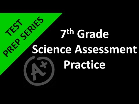 7th Grade Science Assessment Practice Day 1