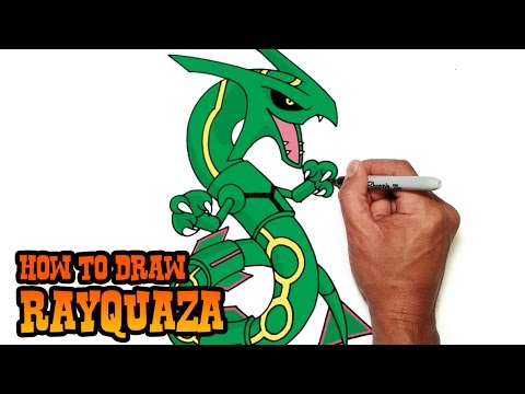 how-to-draw-rayquaza-|-pokemon