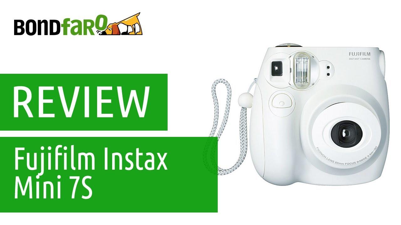 dcc4e21a431e Câmera Fujifilm Instax Mini 7S - Review - YouTube