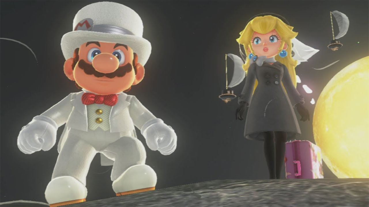 Super Mario Odyssey All Peach Locations